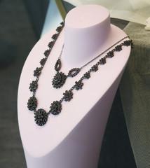 jewelry in store window