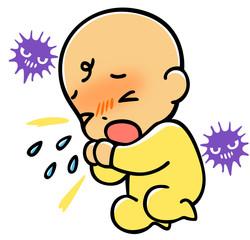 風邪の赤ちゃん