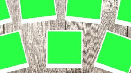photos with a green screen