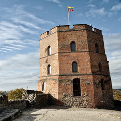 Tower of Gediminas Castle in Vilnius