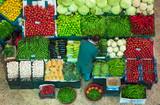 sebze meyve satıcısı