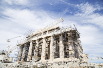 Restoration of the Parthenon