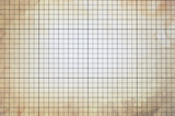 Old vintage colorless dirty graph paper poster