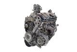 Car engine isolated on white background - 77065483