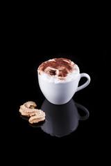 Tasse Kaffee mit Crema