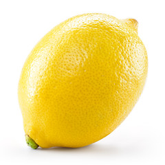 Lemon. Fruit isolated on white background. With clippind path