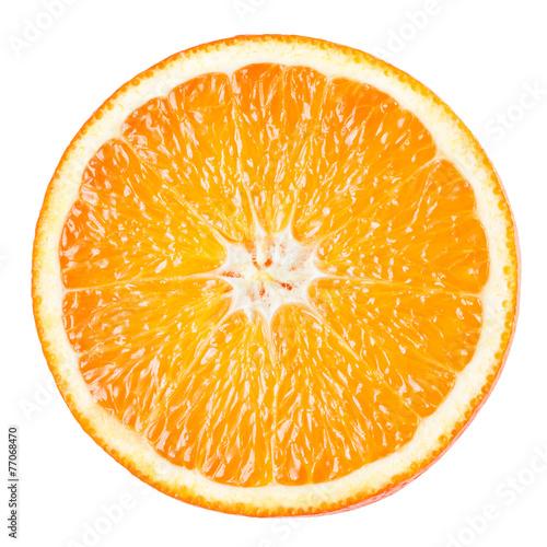 Orange slice isolated on white background Photo by Tim UR