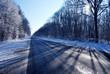 Route en hiver - 77069413