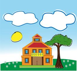 Childhood house