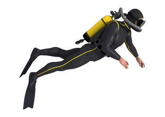Diver © photosvac