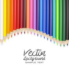 pencil color vector