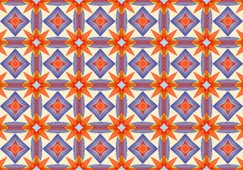 colorful kaleidoscopic pattern
