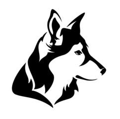 dog profile head