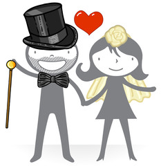 Amour - mariage