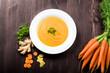 Möhren Ingwer Suppe - 77075451