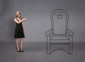princess indicated throne like personal aspiration