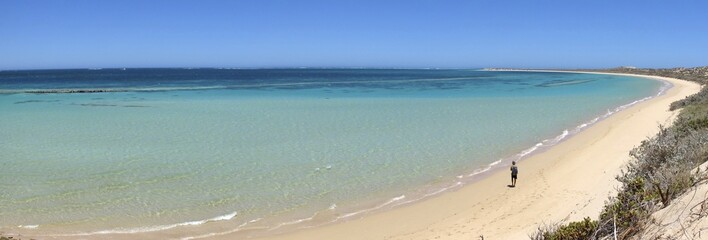 Coast at Coral Bay, West Australia - Panorama