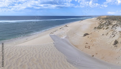 canvas print picture Dunes at Gnaraloo Station, West Australia