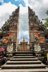 Balinese Hindu Temple -  Ubud, Bali, Indonesia