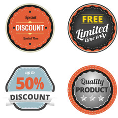 Business Discount Badges