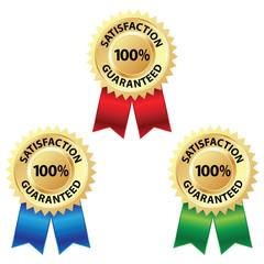 Satisfaction Guaranteed Badge & Ribbon