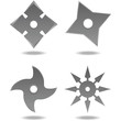 Ninja Throwing Stars - 77079271