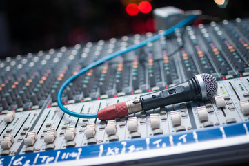 Sound mixer and Microphone