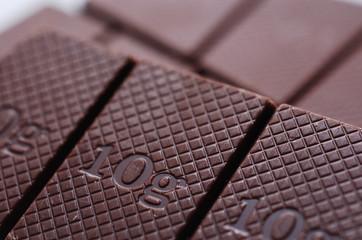 10gが並ぶチョコレート