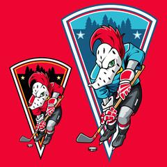 Woodpecker Ice Hockey