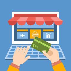 Compra online con tarjeta de crédito