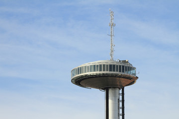 Observation deck of tower of Mirador-del-Faro. Madrid, Spain