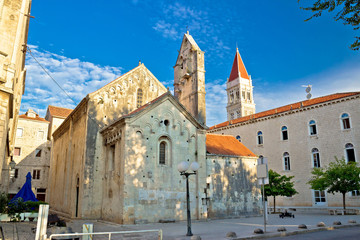 Historic UNESCO town of Trogir square