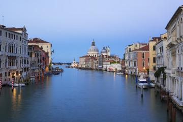 View of the Grand Canal and Basilica Santa Maria della Salute