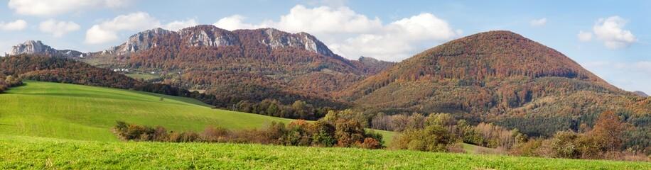 Vrsatec and Vrsatecke Podhradie villag - Slovakia