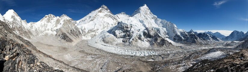 Beautiful view of mount Everest