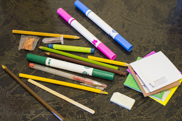 Set for drawing