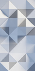 abstract triangle and square