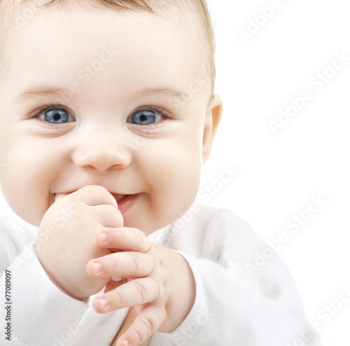 Leinwanddruck Bild adorable baby