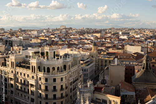 Fotobehang Madrid Distrito centro de Madrid