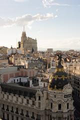 De Alcalá a Plaza España, Madrid