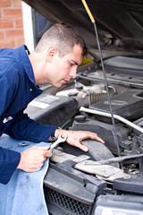 Mechanic: Looking Into Engine