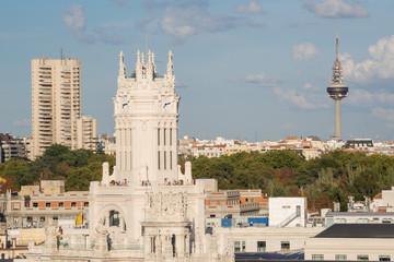 """Ayuntamiento de Madrid y el """"pirulí"""""""