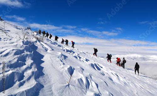 Fotobehang Alpinisme dağcılık etkinliği&dağ sevgisi