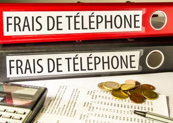 Frais de téléphone (coût)