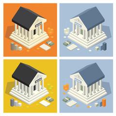 Buildings isometric