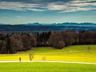 Wandern im Alpenvorland in Bayern