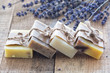 Leinwanddruck Bild - Lavander soap