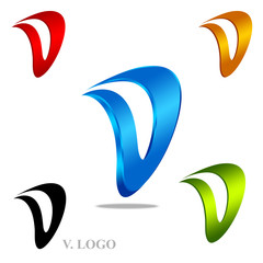 V. Logo