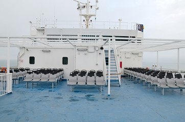 Deck of the ship