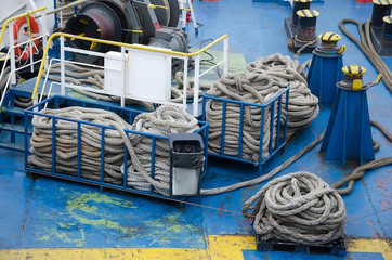 Ropes for mooring